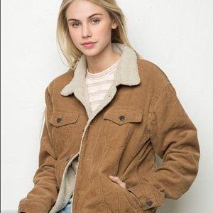 Brandy Melville Elisha Corduroy  Jacket